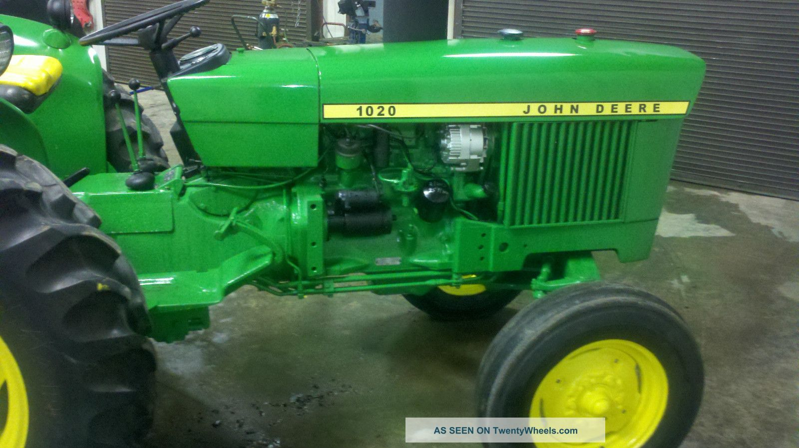 John Deere 1020 Tractor Manual Manuals Ignition Wiring Diagram 1010 Parts Yesterdays Tractors