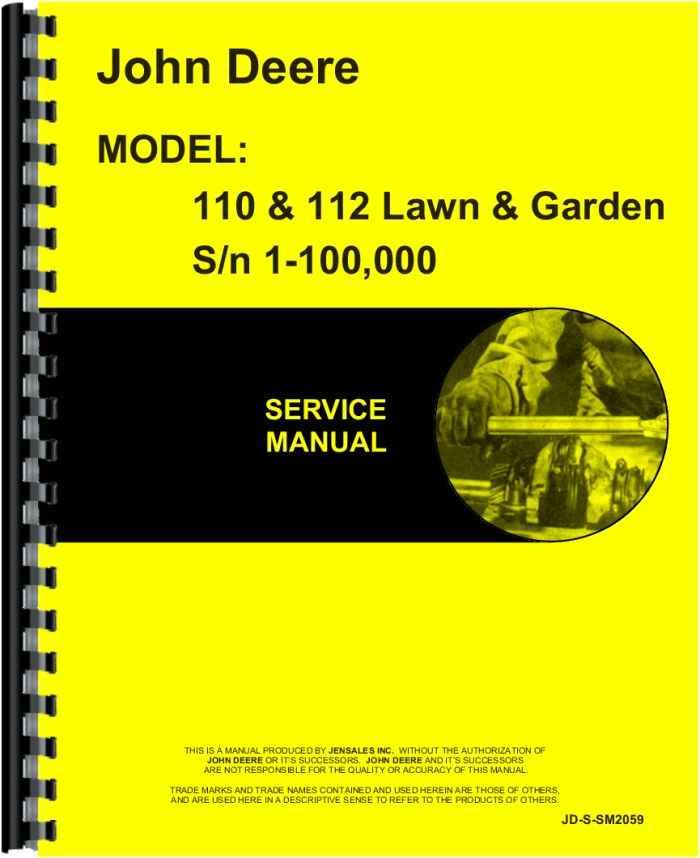 John deere manuals john deere manuals training john deere john deere 112 service manual fandeluxe Images