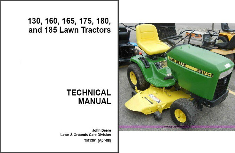 John deere 160 manual john deere manuals john deere manuals john deere 130 160 165 175 180 185 lawn garden tractor fandeluxe Images