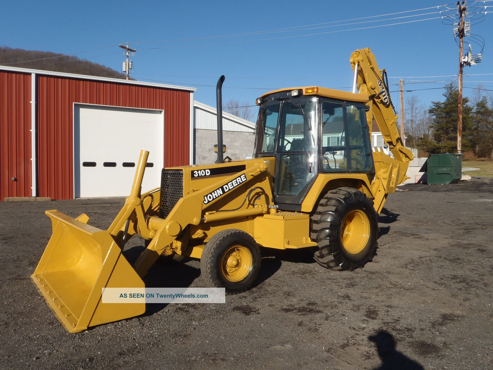 JOHN DEERE 300D 310D 315D BACKHOE LOADER REPAIR MANUAL