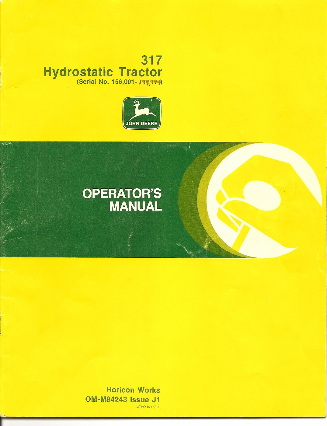 John Deere 317 Manual Manuals Www Lawn Tractor Wiring Diagram Tractordatacom Information