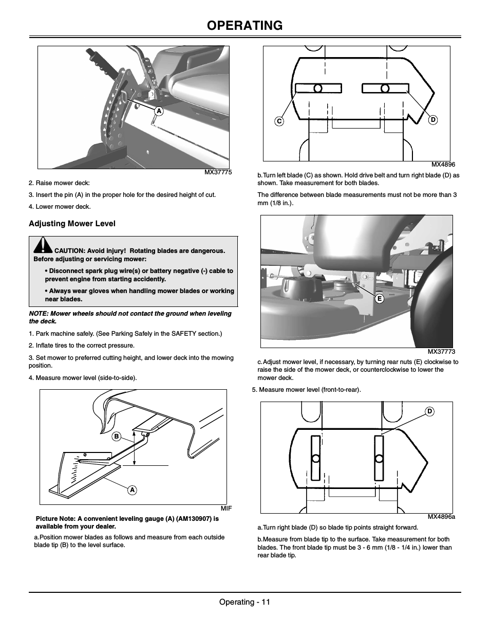 John Deere 425 Mower Deck Manual | John Deere Manuals: John ... on