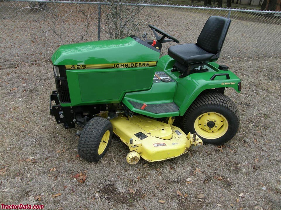 John Deere 425 Mower Deck Manual John Deere Manuals border=