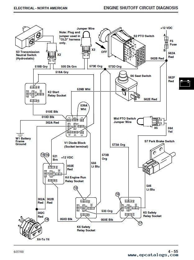 John Deere 4600 Technical Manual John Deere Manuals John Deere JD 4600 Electric Diagram Ford 4600 Wiring Diagram John Deere 4200 Wiring Diagram At IT-Energia.com