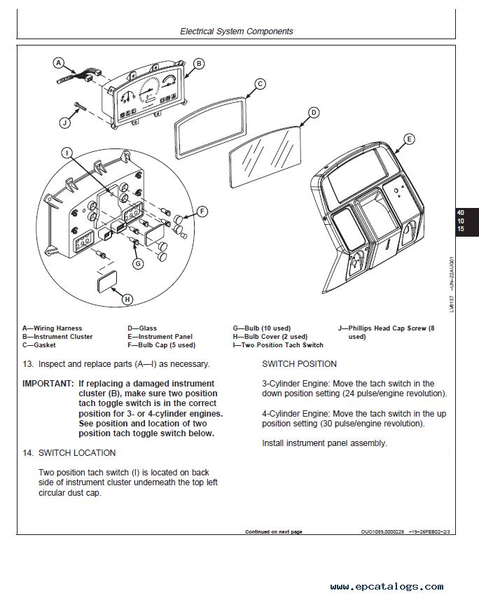 John Deere 6000 Manual – John Deere 314 Wiring Schematic