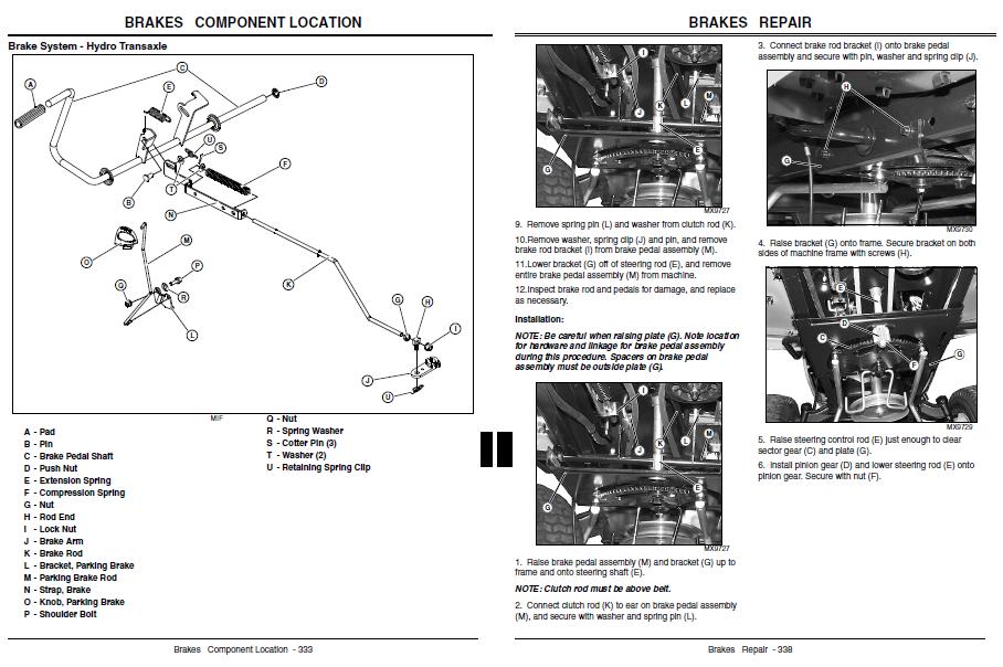 John Deere L120 Deck Rebuild Manual Guide