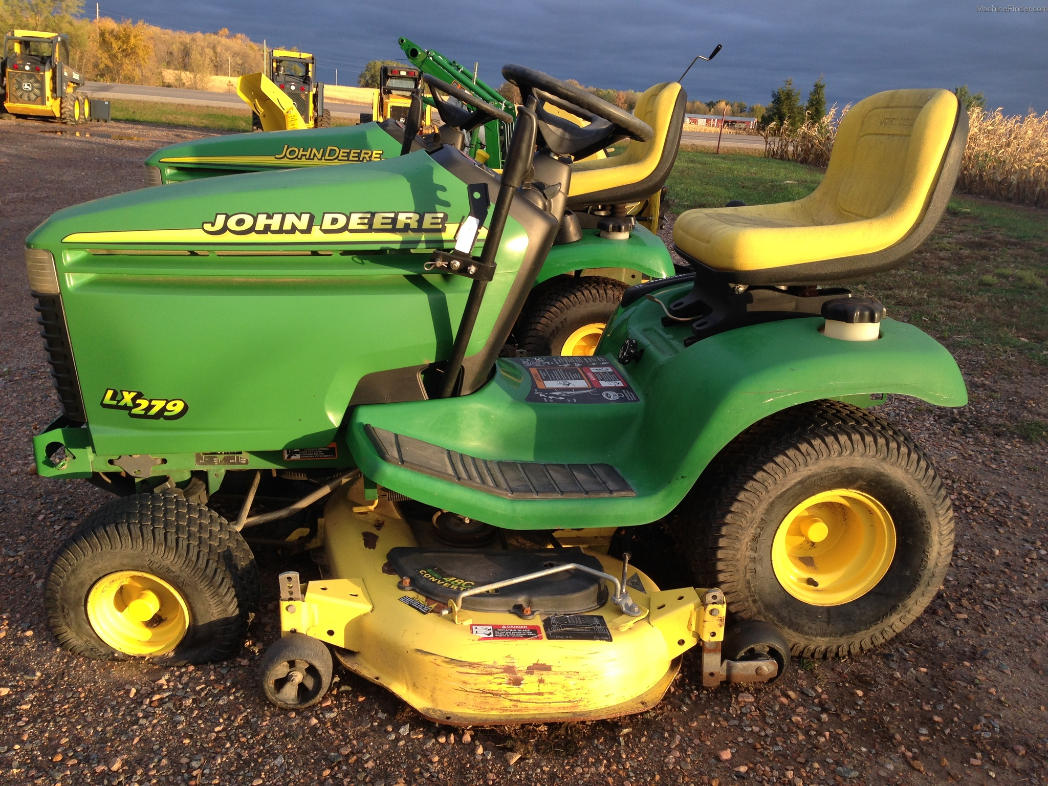 John Deere Lx279 Manual Manuals Wiring Diagram 1999 Lawn Garden And Commercial Mowing