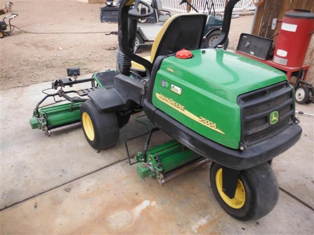 John Deere 2500 Reel Mower | John Deere Mowers: John Deere