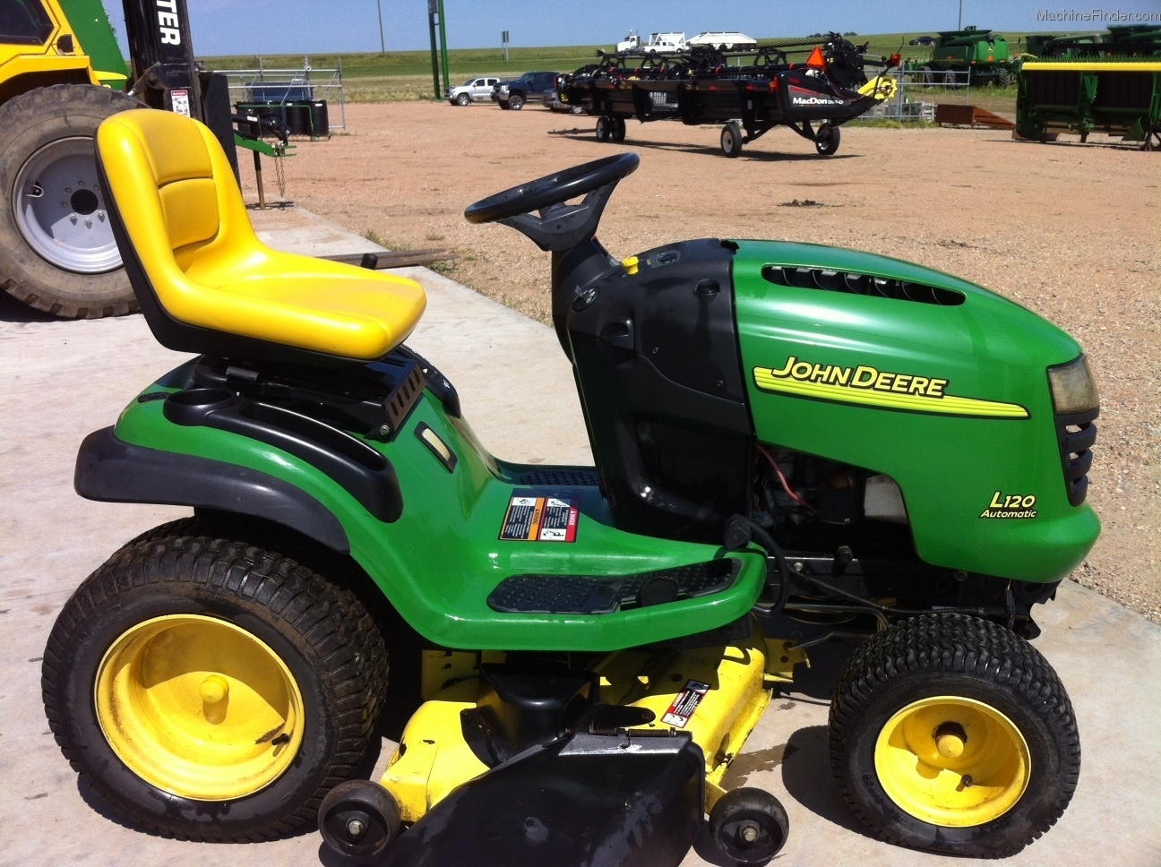 John Deere L120 Riding Mower Mowers Wiring Harness 2004 Lawn Garden And Commercial Mowing