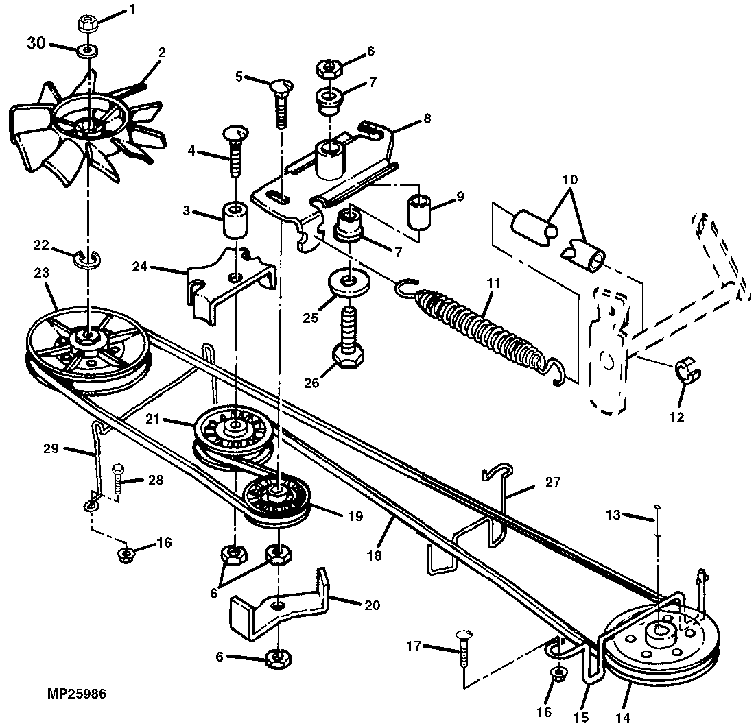 Scotts S2554 Mower Deck Parts Diagram Wiring Library