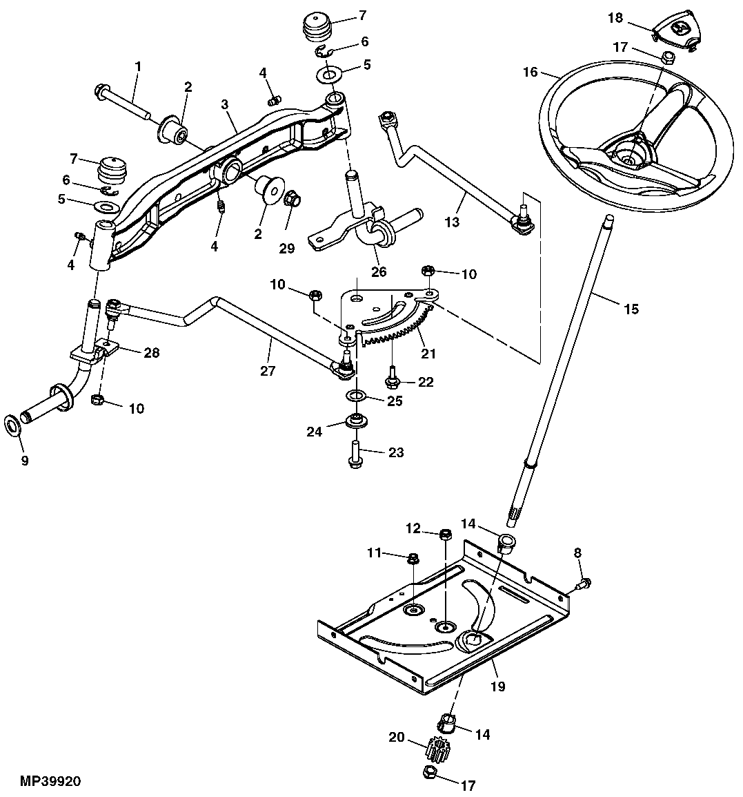 John Deere L120 Engine Diagram Wiring Library. 4wheel Steering Lawn Tractor X739 John Deere Us. John Deere. John Deere 160 Lawn Tractor Parts Diagram Rear Axile At Scoala.co