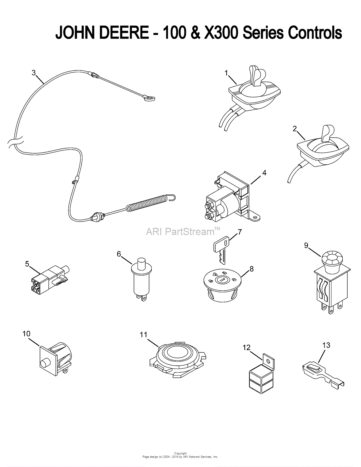 John Deere L100 Wiring Schematic Trusted Schematics Diagram 450c Harness Diagrams Lx176
