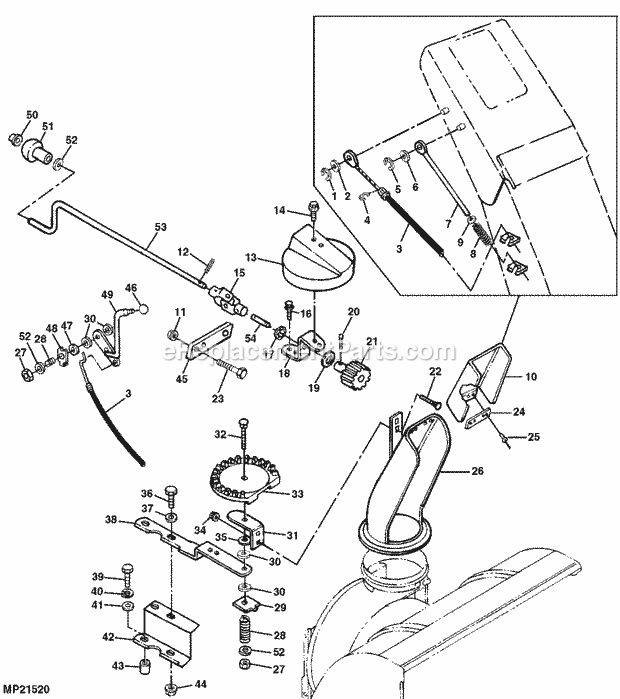 john deere snow blower engine diagram html