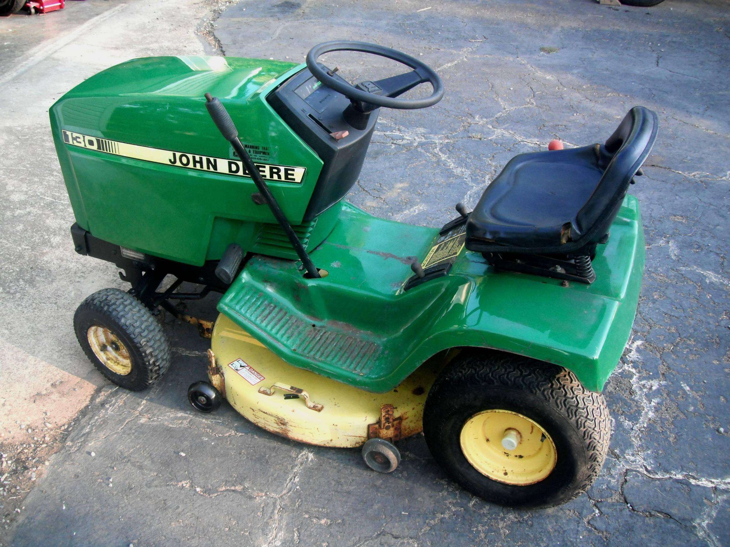 John Deere 130 Lawn Tractor Parts | John Deere Parts: John Deere ...