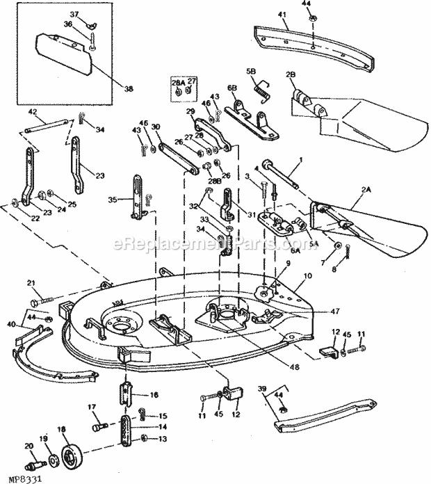 John Deere 180 Parts. John Deere Rotary Cutter Parts Finishing Mower. John Deere. John Deere Lt160 Lawn Tractor Parts Diagram At Scoala.co