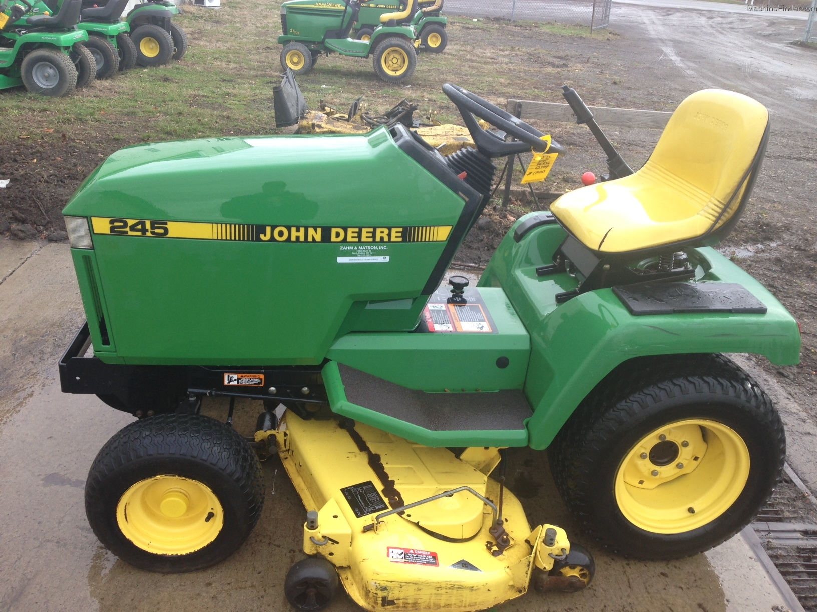 John Deere 245 Deck Parts Www Wiring Diagram 1993 Lawn Garden And Commercial Mowing