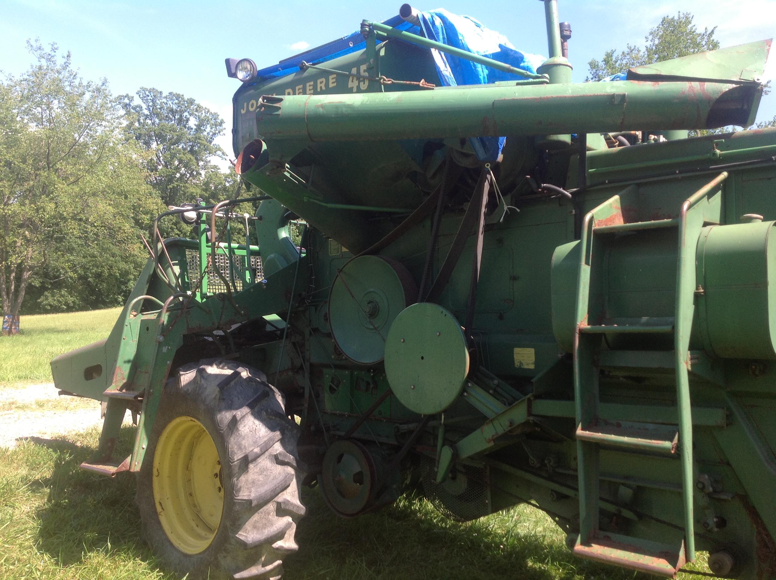 John Deere 45 Combine Parts Antique Tractor Wiring Harness Ebay