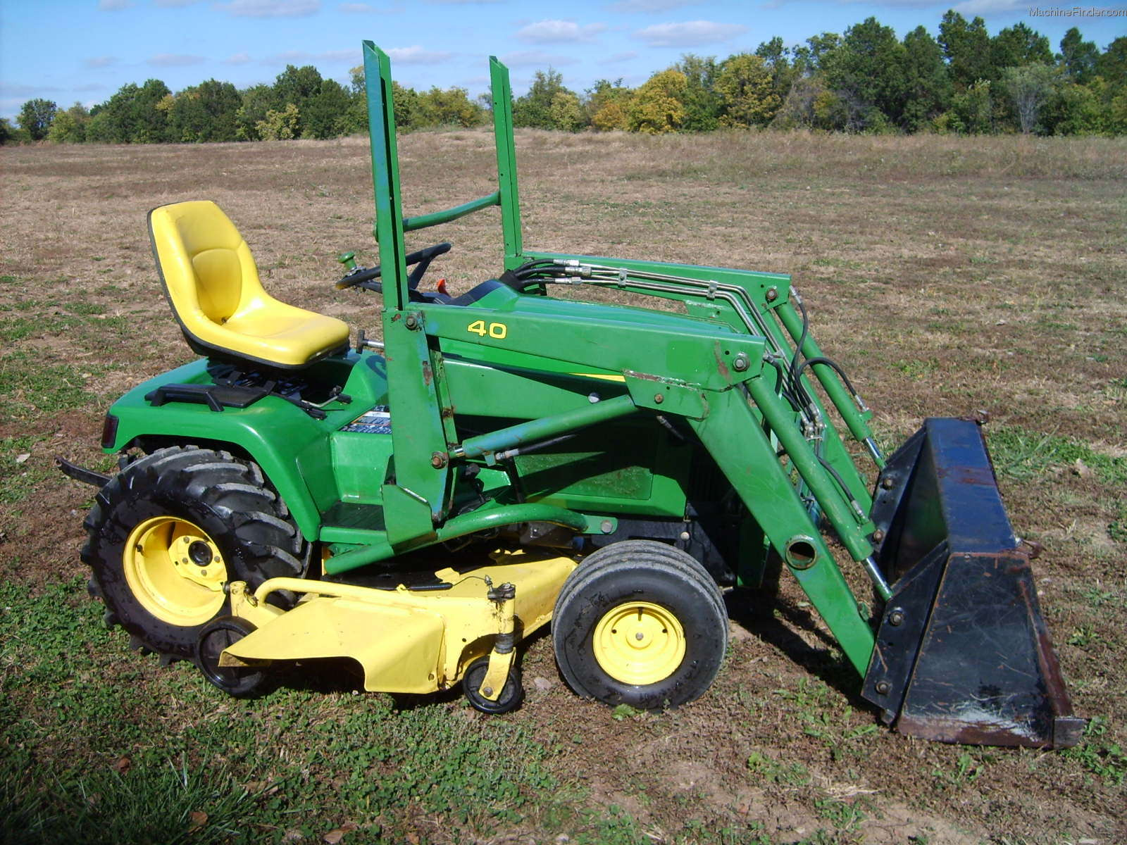 John Deere 455 Mower Parts Wiring Diagram