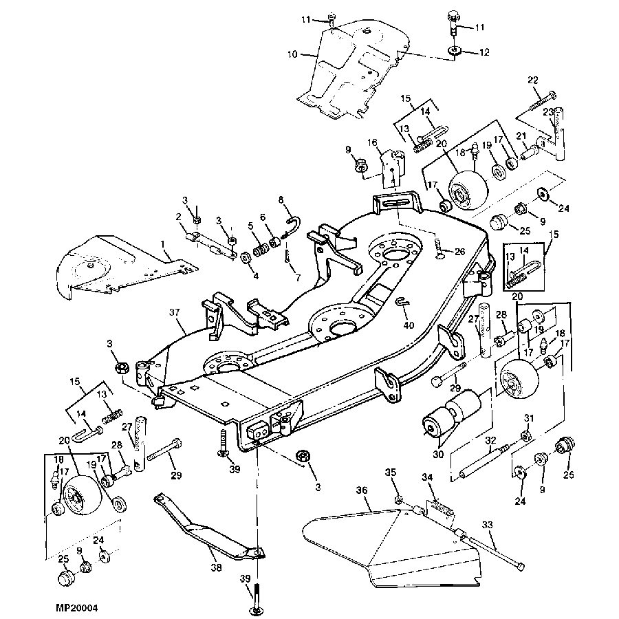 John Deere 455 Lawn Tractor Wiring Diagram Electrical Diagrams Z425 54c Schematics L130 Riding Mower Switch