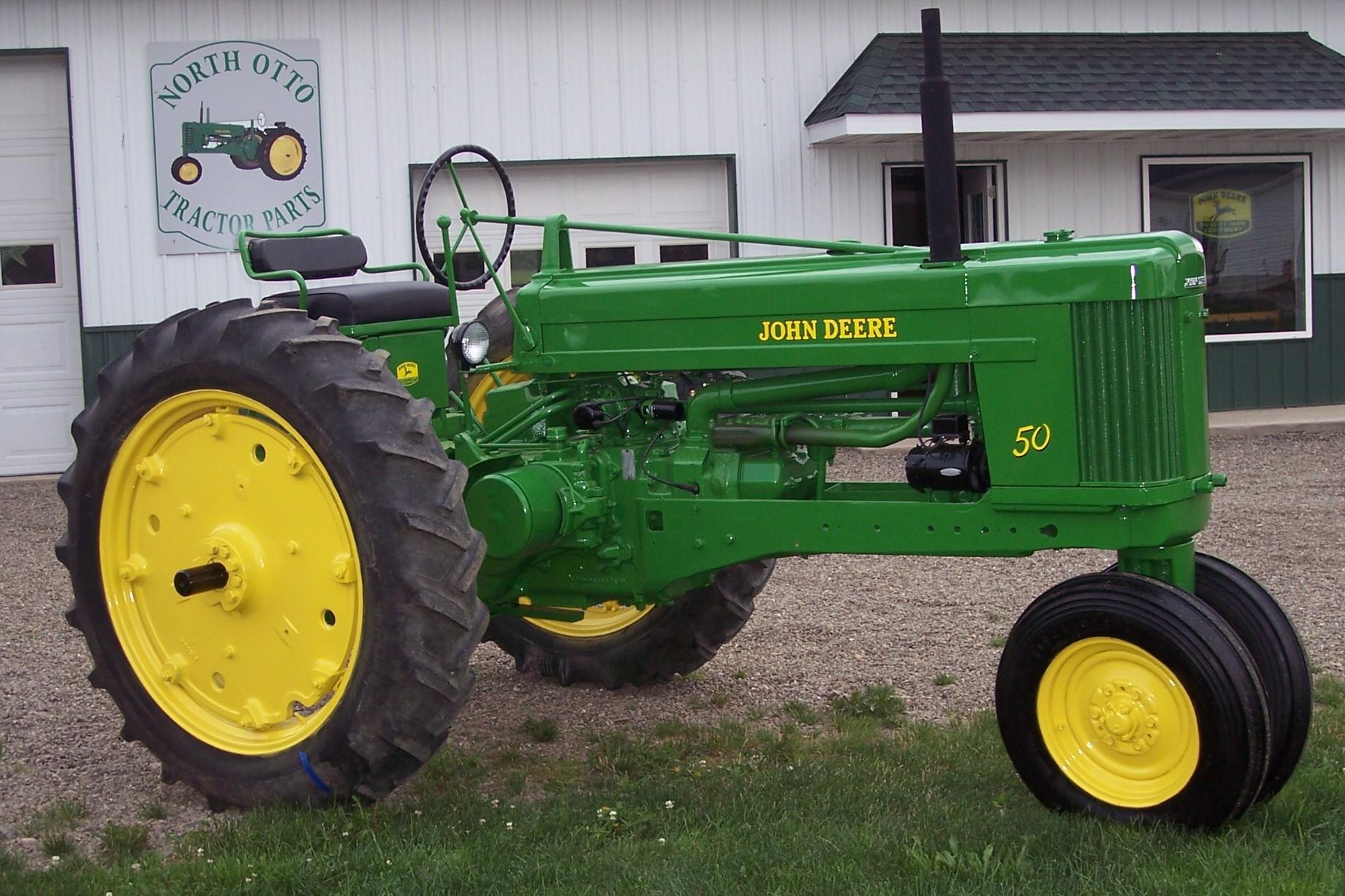 John Deere 50 Tractor Parts   John Deere Parts: John Deere