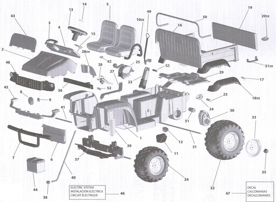 Ungewöhnlich Deere Gator 6x4 Schaltplan Fotos - Der Schaltplan ...