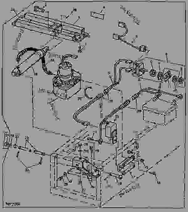 john deere amt 622 engine diagram john deere 265 ignition wiring diagram #15