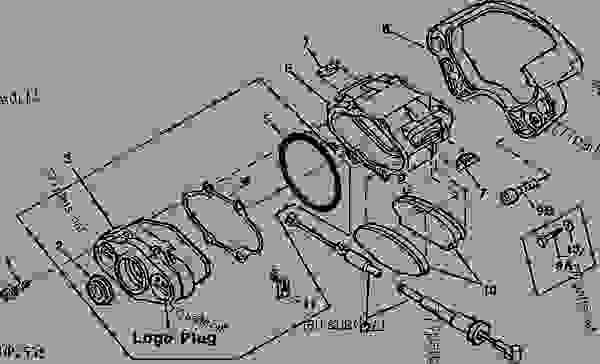 John Deere Amt 600 Parts