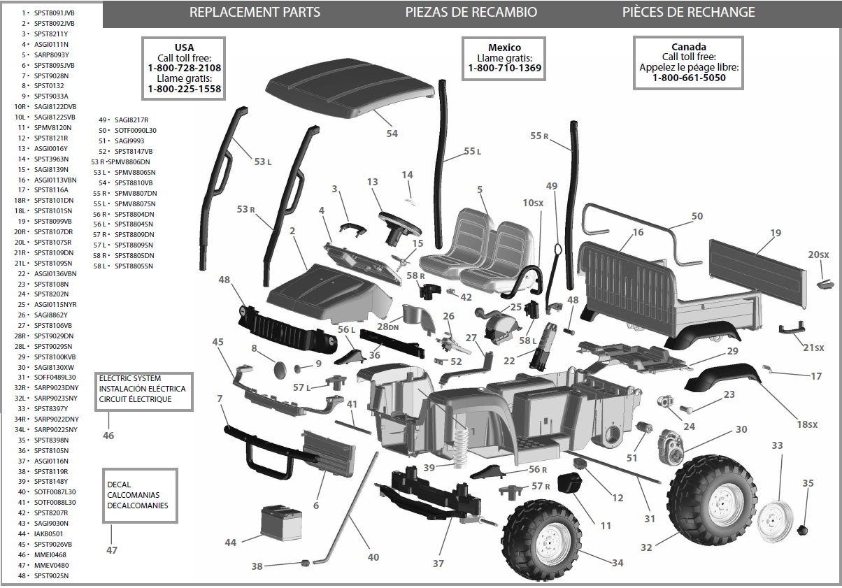 BingImages_540717 john deere hpx gator parts john deere parts john deere parts John Deere Gator HPX Ignition Wiring-Diagram at bayanpartner.co