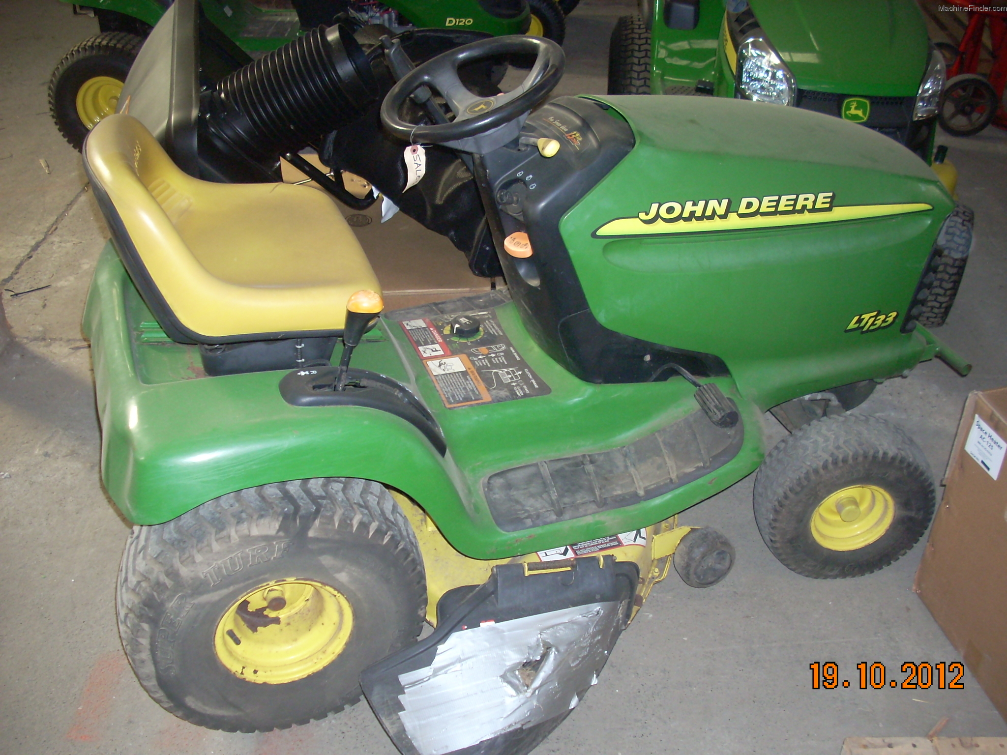 John Deere Lt133 Lawn Mower Parts Wiring Harness Garden And Commercial Mowing