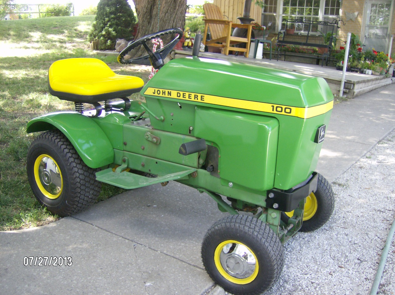 John Deere 100 Lawn Tractor More Tractors Deerex140 Beltsheavesspindles And Blades Exploded Parts Diagram D100 Series Us