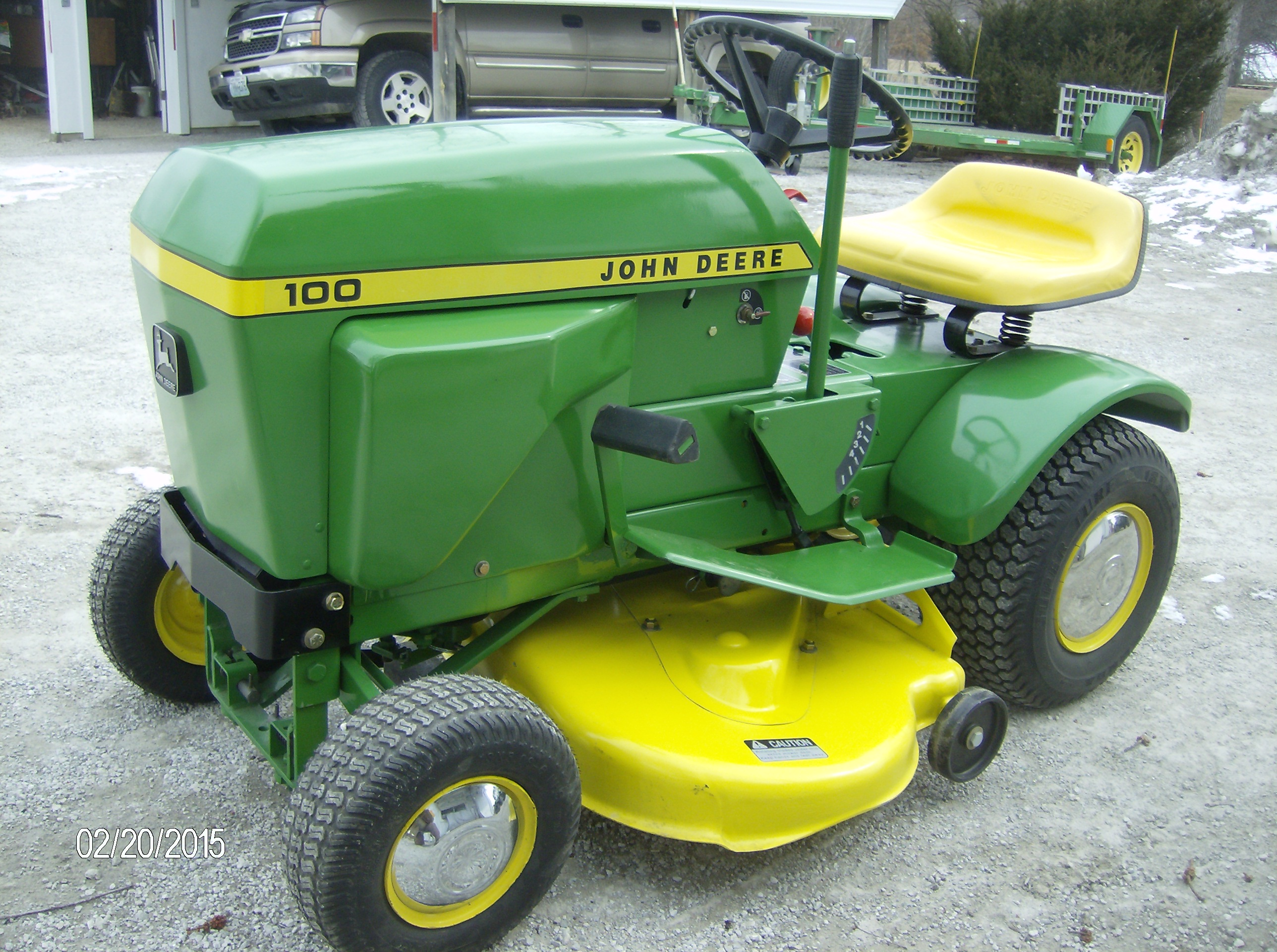 John Deere 100 Lawn Tractor More Tractors Deerex140 Beltsheavesspindles And Blades Exploded Parts Diagram Series Mowers Direct