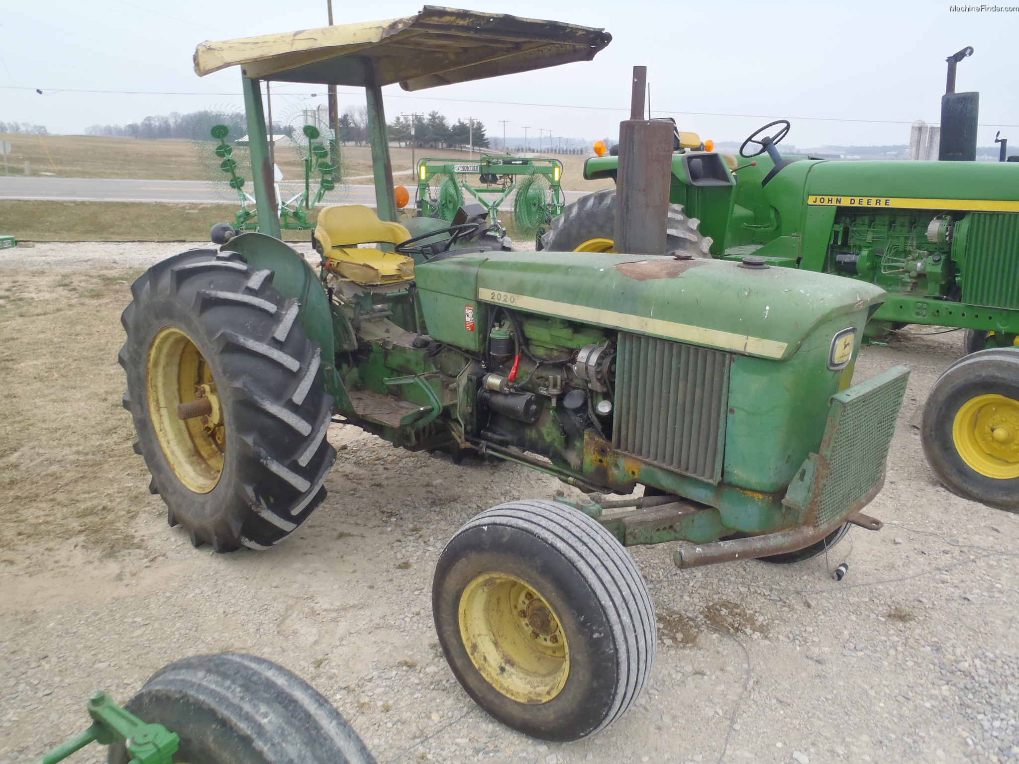 John Deere 2020 Tractor More Tractors Antique Wiring Harness Restoration Supply 2 Cylinder Parts