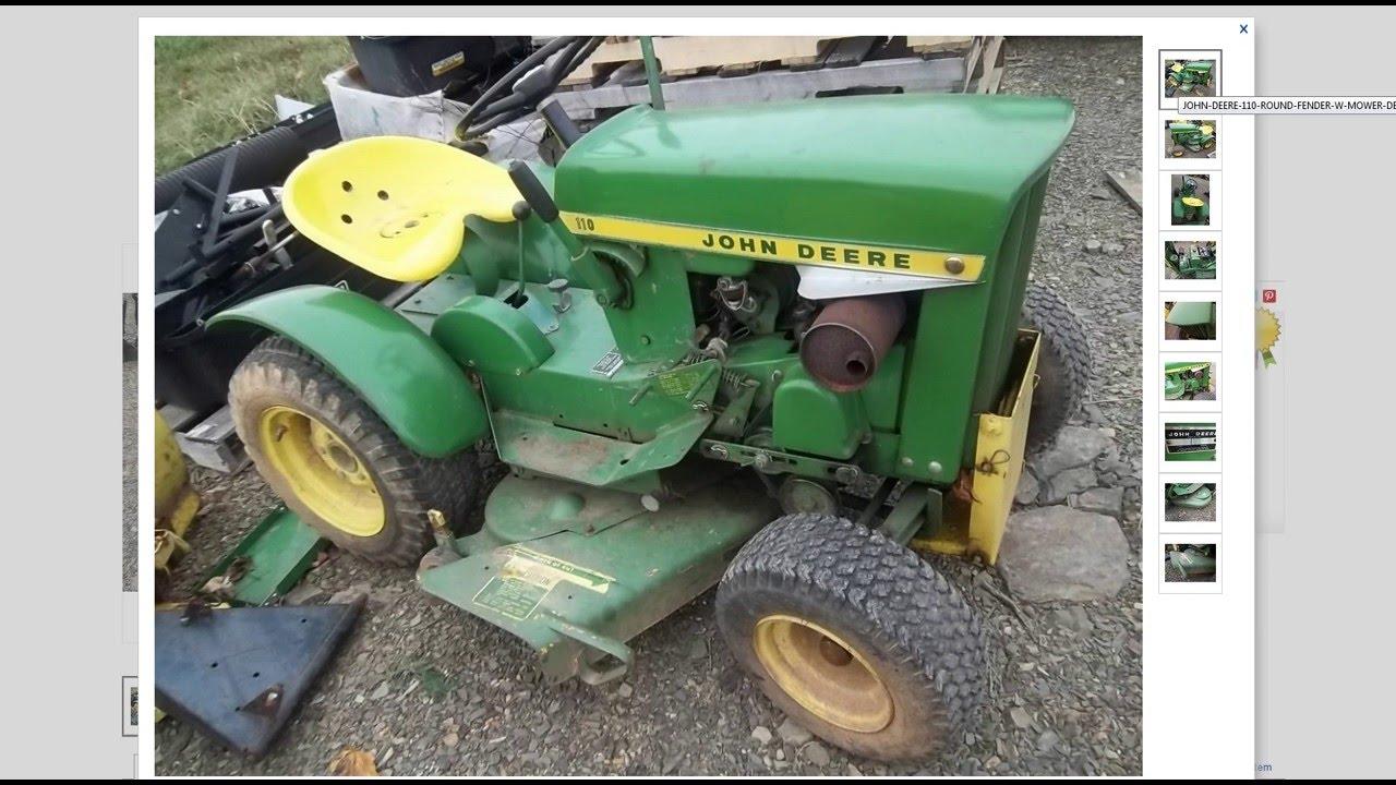 Antique John Deere Lawn Tractors : Vintage john deere lawn tractor more tractors