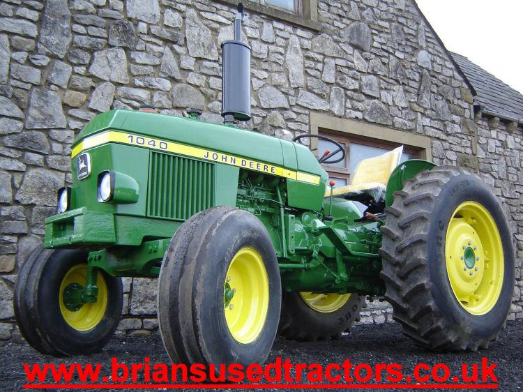 John Deere 3 Cylinder Diesel Tractor | More John Deere