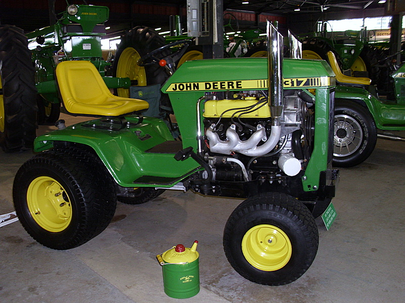 John Deere 317 Tractor More Tractors