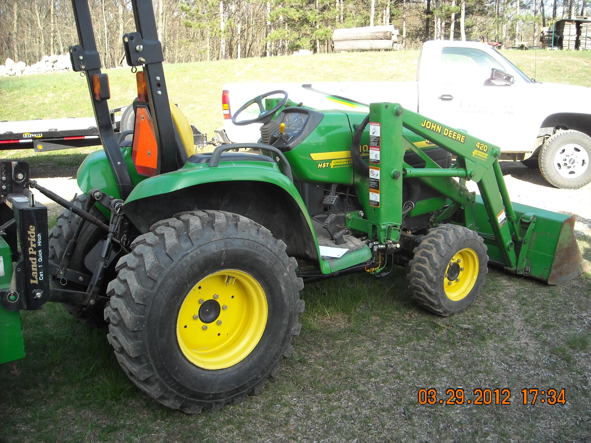 John Deere 4200 Compact Tractor More Tractors 4500c Fuse Box Diagram 1998 1 40hp