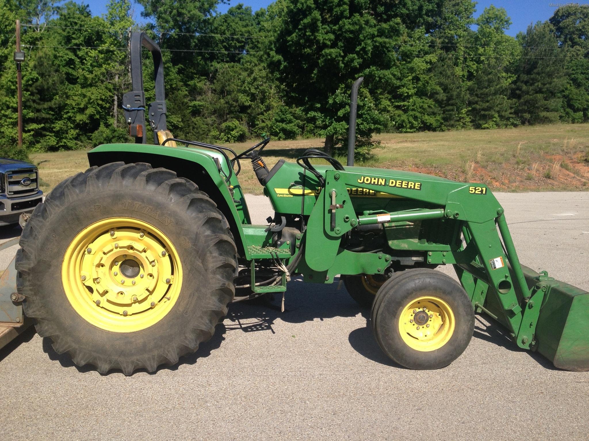 John Deere 5510 Specifications - Tractor Specs