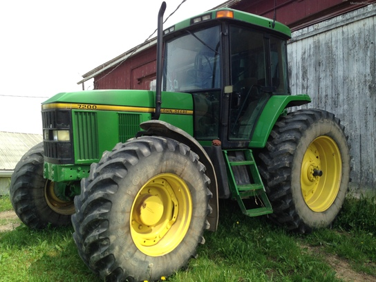 John Deere 7200 Tractor More Tractors. 1996 John Deere 7200 Tractors Row Crop 100hp. John Deere. John Deere 7200 Tractor Pto Diagram At Scoala.co