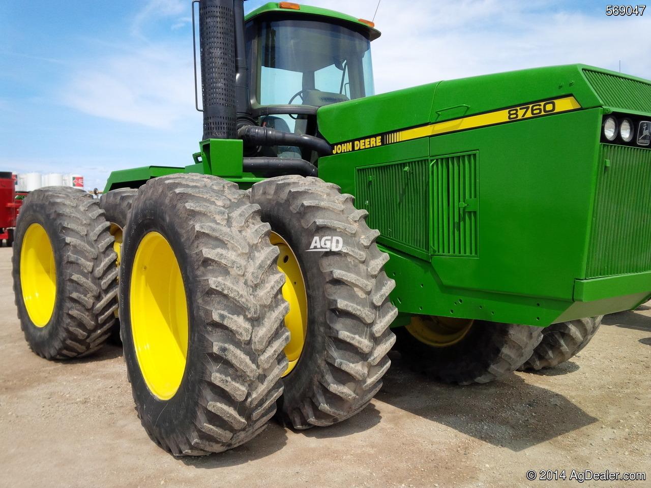John Deere 8760 Tractor | More John Deere Tractors: More