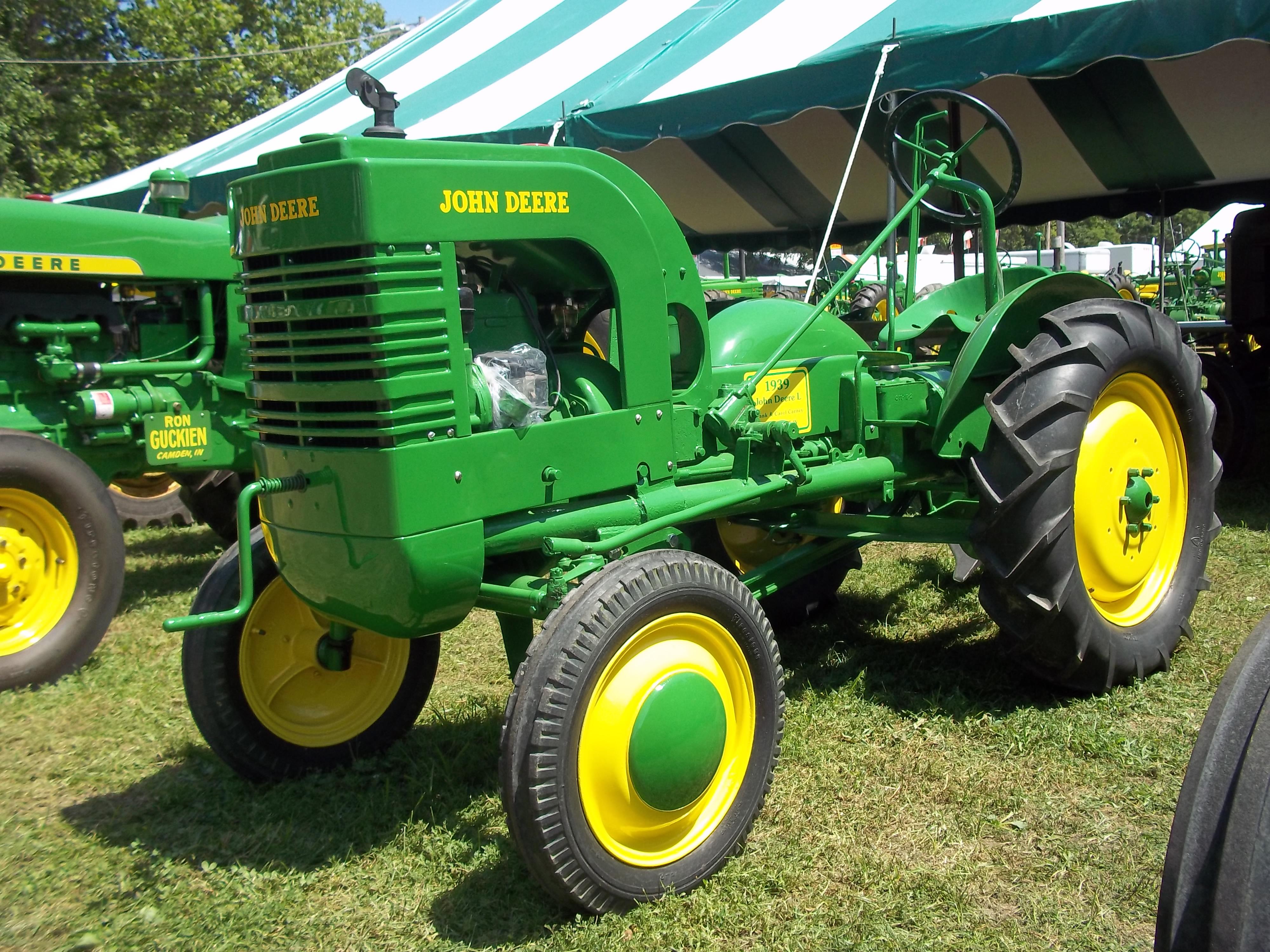 John Deere L Tractor | More John Deere Tractors: More John Deere