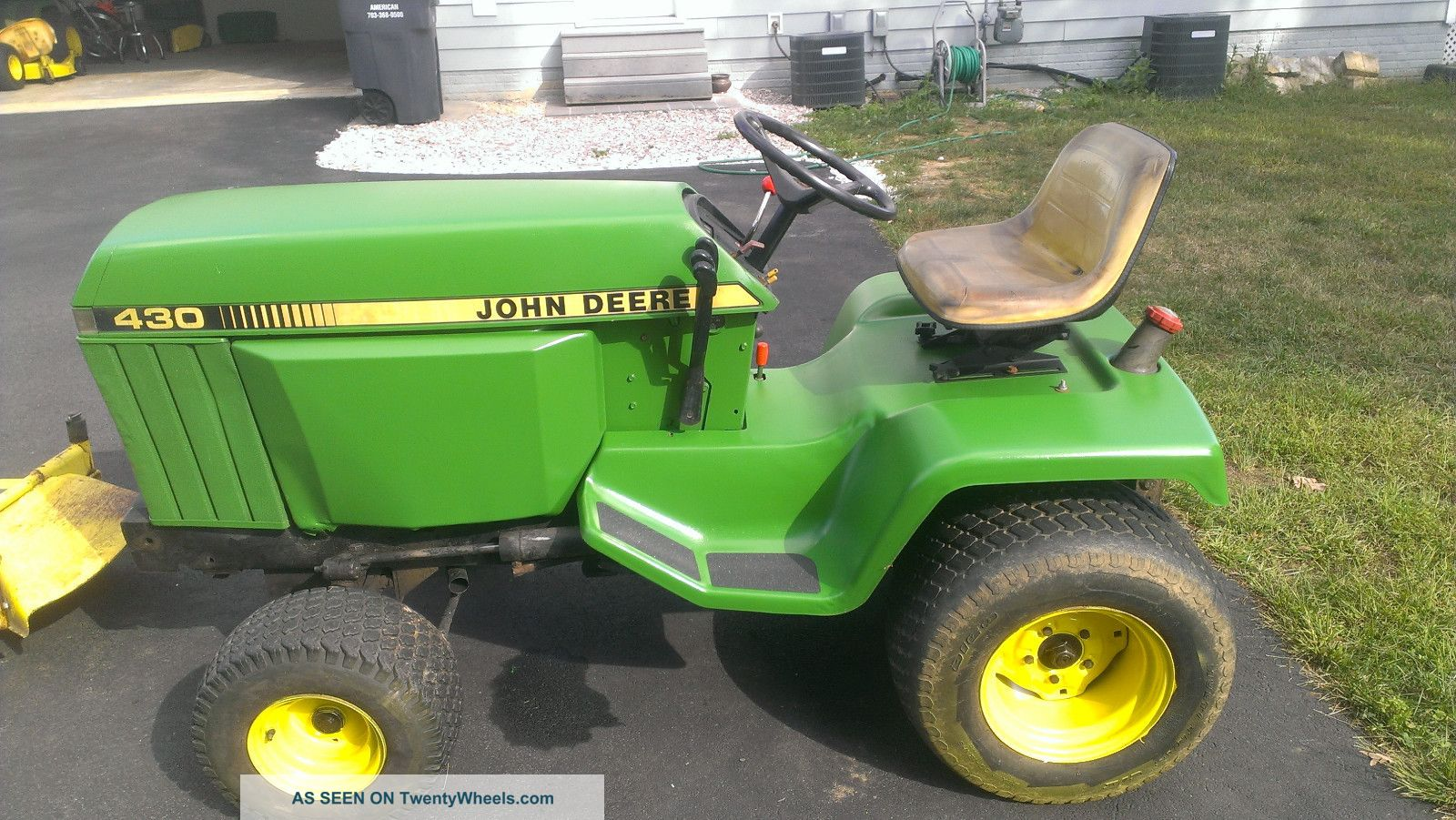 John Deere Garden Tractor W More Tractors Kohler K532 Wiring Diagram 425 47 Snowblower And 54
