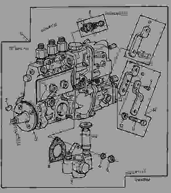 John Deere 5310 Fuel Pump | John Deere Pumps: John Deere