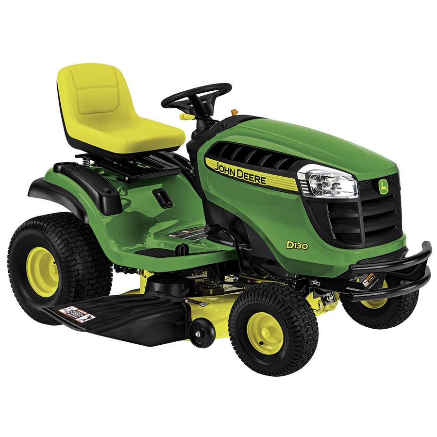 john deere x330 vs d130 lawn tractor comparison