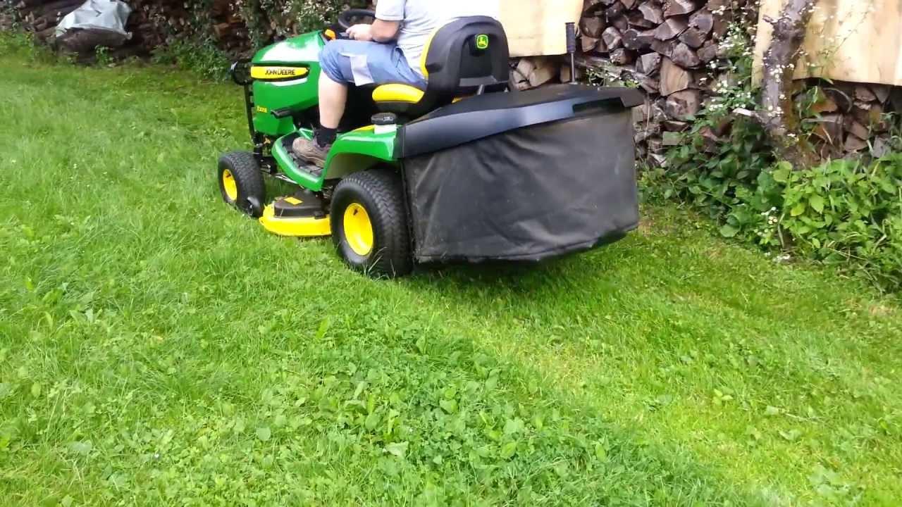 john deere x155r vs x300r lawn tractor comparison