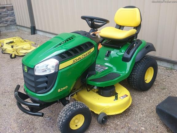 John Deere S240 Lawn Tractor John Deere X330 Vs S240