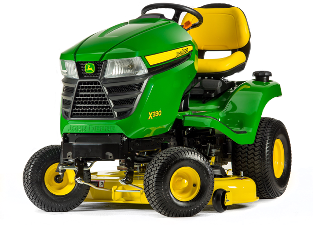 John Deere X330 Lawn Tractor with 42-inch Deck