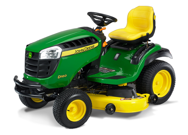 John Deere D160 Lawn Tractor with 48-inch Deck