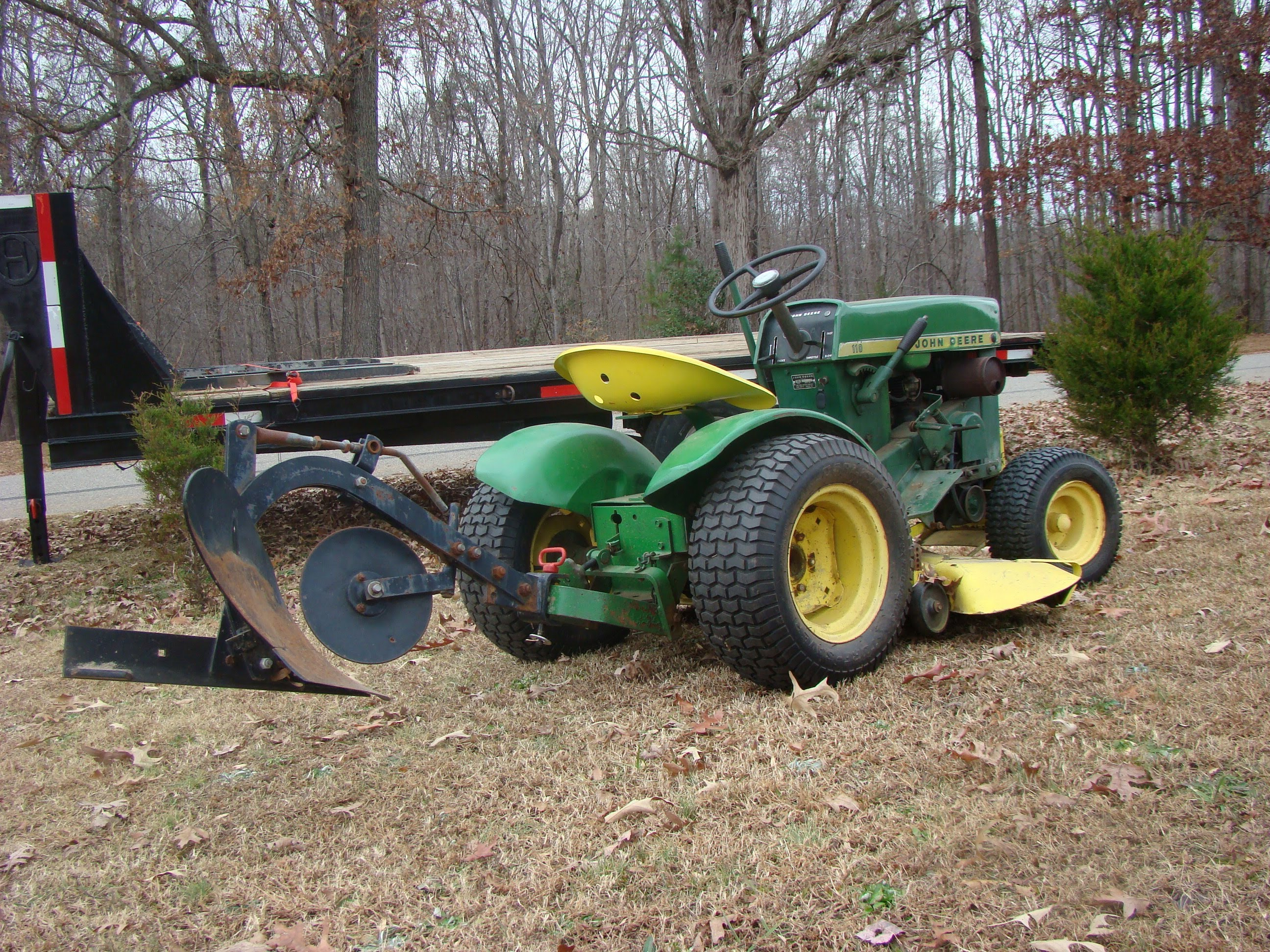 John Deere 110 Garden Tractor Attachments : John deere attachments