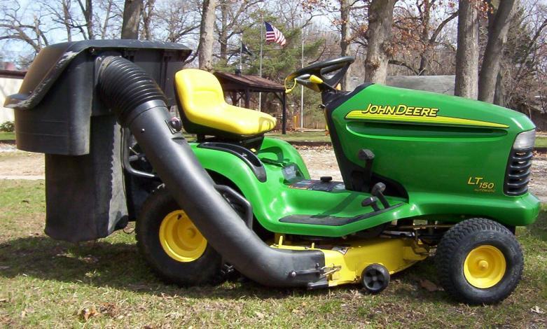 John Deere Lt155 Bagger Diagram : John deere lt lawn mower gr catcher parts