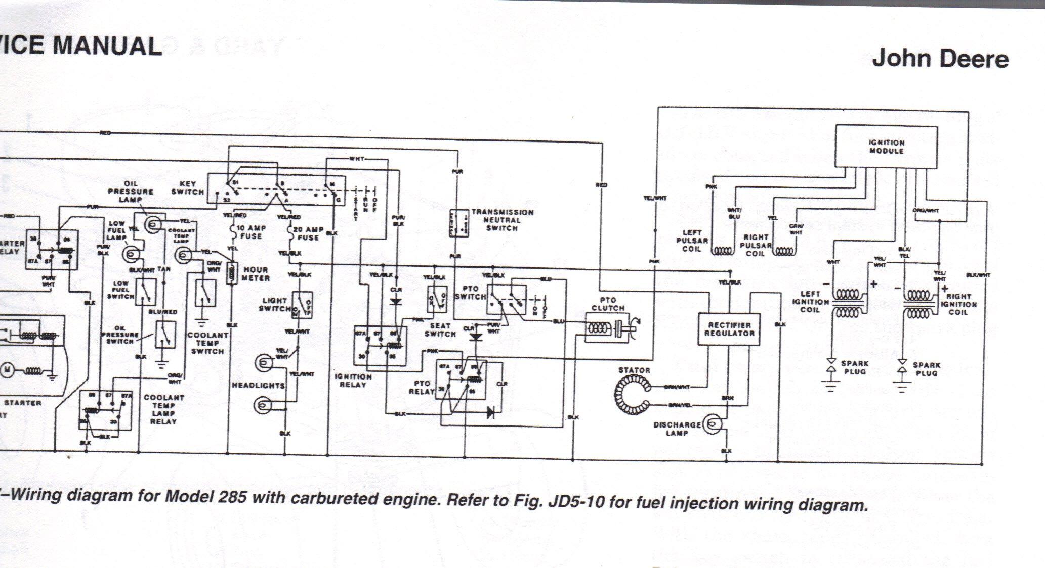 John Deere 175 Lawn Tractor Wiring Diagram, John, Free .